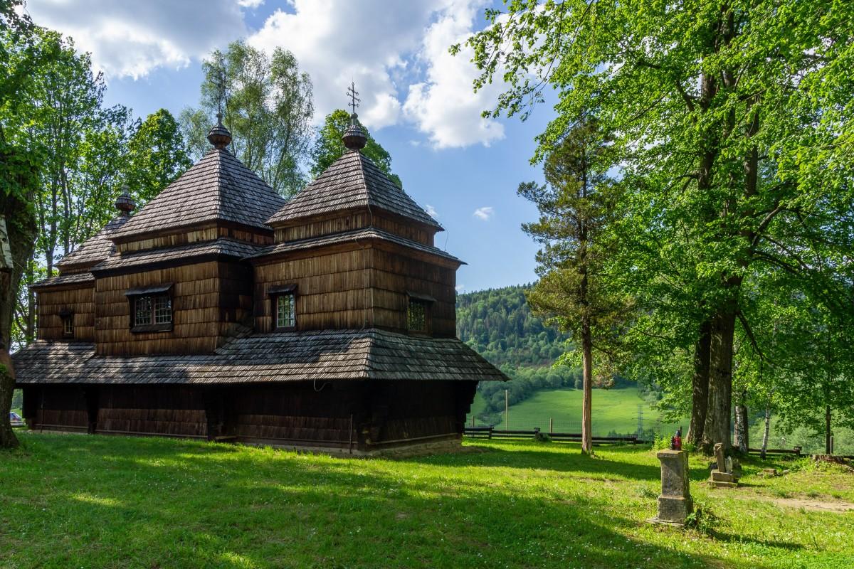 Zdjęcia: Smolnik, Bieszczady, Cerkiew w Smolniku, POLSKA