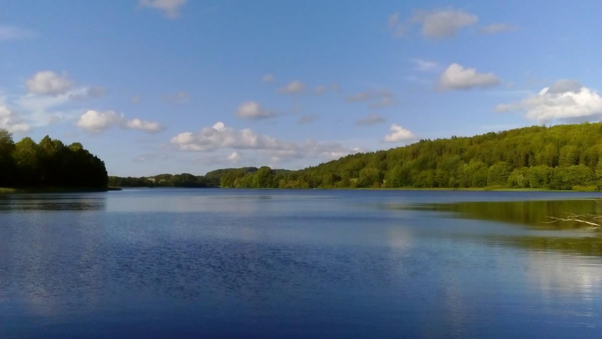 Zdjęcia: Chmielno, Szwajcaria Kaszubska, Jezioro Rekowo, POLSKA
