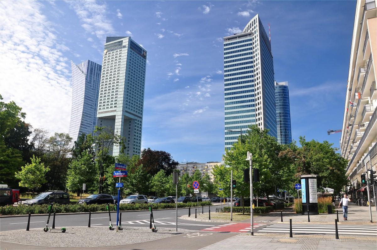 Zdjęcia: Warszawa, mazowieckie, Warszawskie drapacze chmur, POLSKA