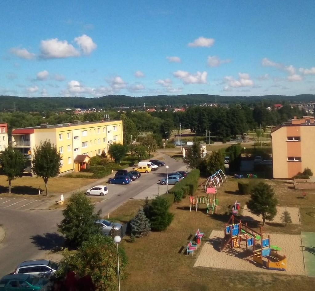 Zdjęcia: Reda, pomorskie, Widok na fragment miasta, POLSKA