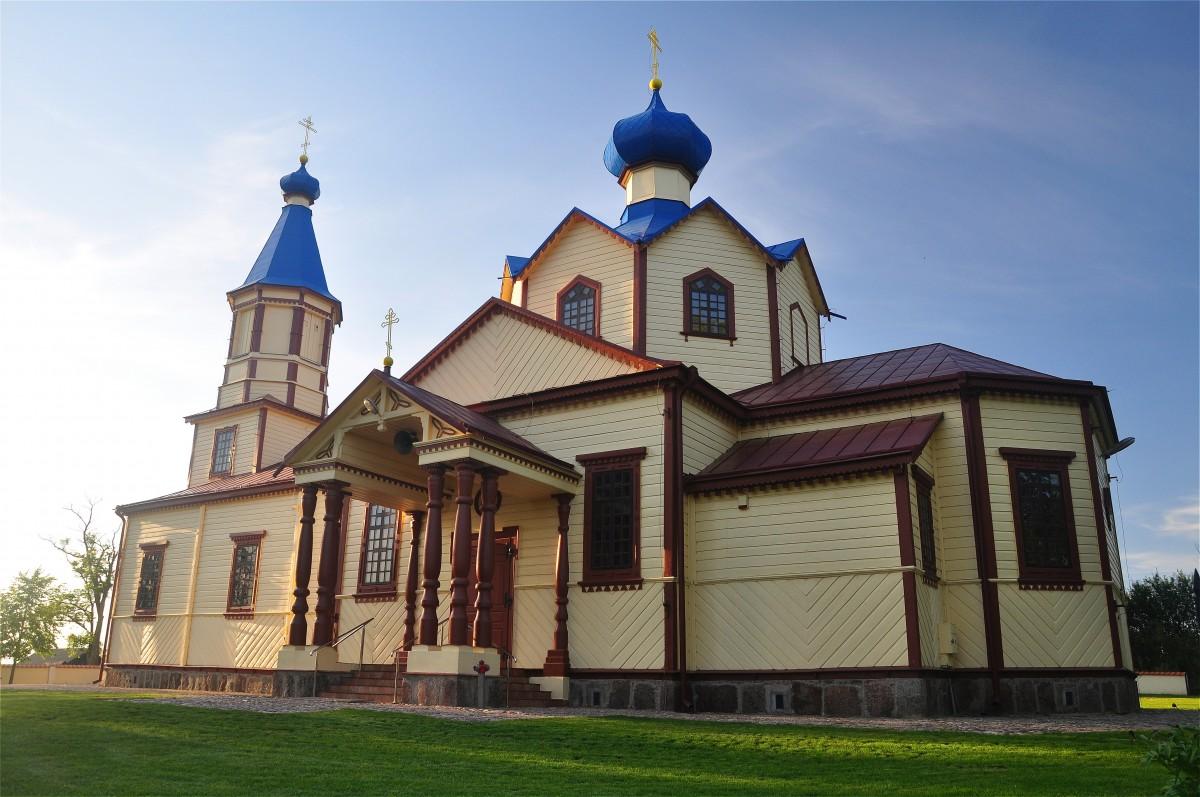 Zdjęcia: Łosinka, podlaskie, Cerkiew w Łosince, POLSKA