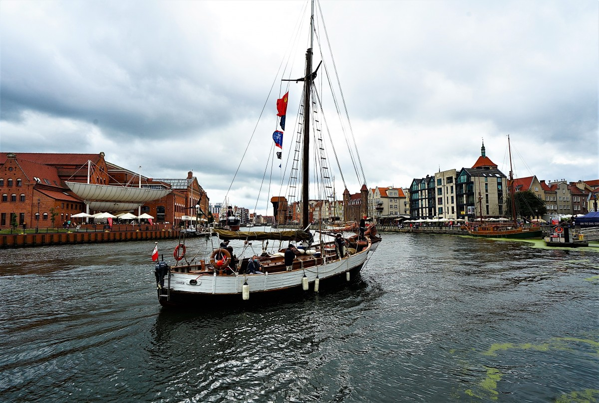 Zdjęcia: Baltic Sail Gdańsk 2020, Pomorze, Powrót do portu, POLSKA