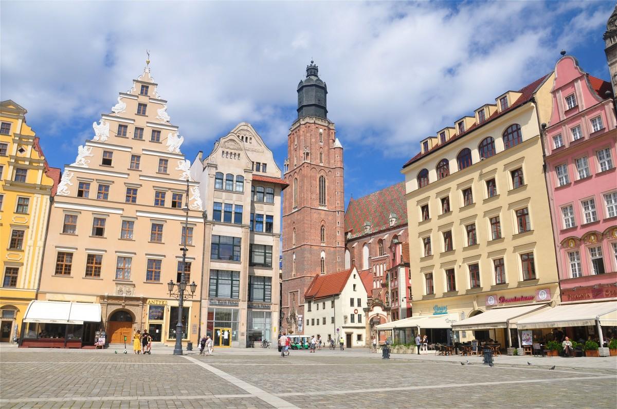 Zdjęcia: Wrocław, dolnośląskie, Na Rynku we Wrocławiu, POLSKA