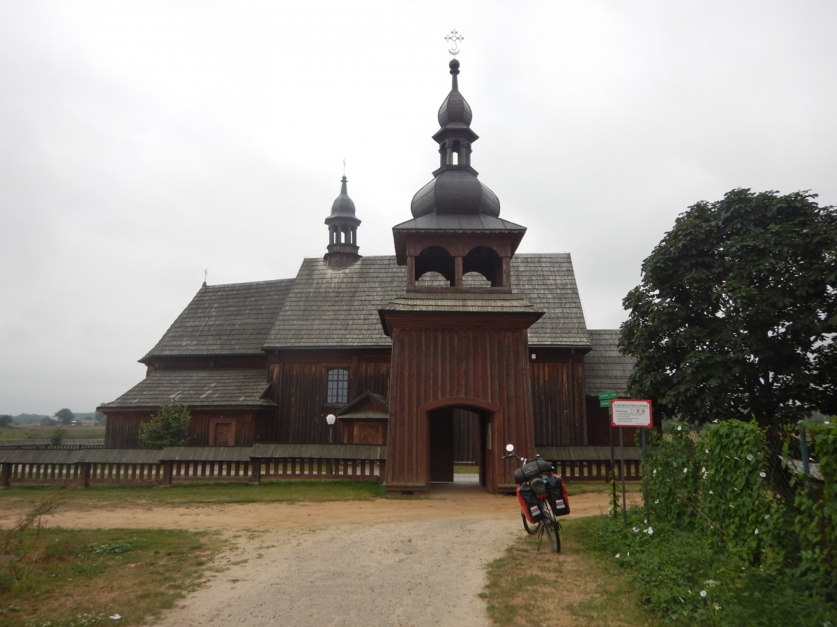 Zdjęcia: Pratulin, Lubelskie, Green Velo - sierpień 2020 , POLSKA
