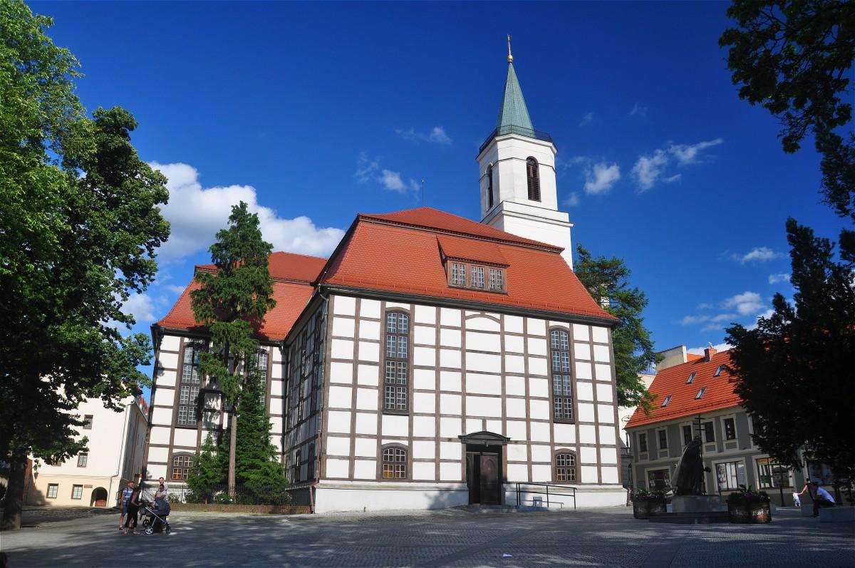 Zdjęcia: Zielona Góra, lubuskie, Kościół ryglowy w Zielonej Górze, POLSKA