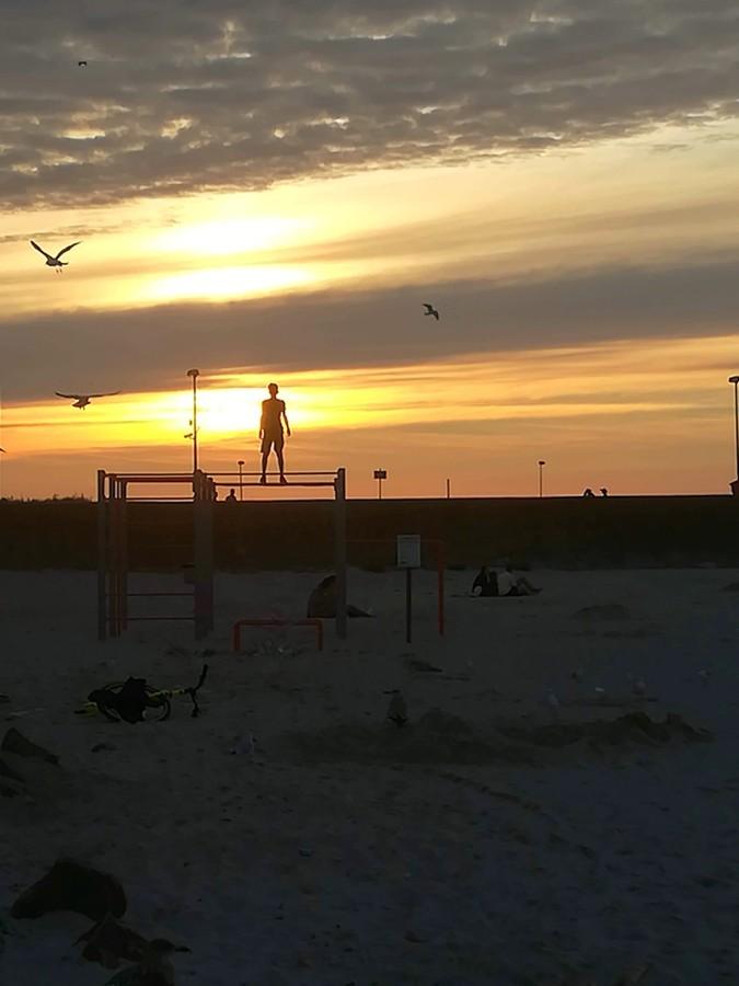 Zdjęcia: Kołobrzeg, woj. zachodniopomorskie, zaczarowani zachodem słońca, POLSKA