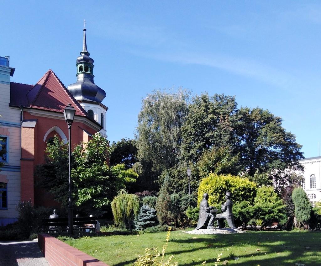 Zdjęcia: Opole, opolskie, Skwer z polskimi gwiazdami, POLSKA