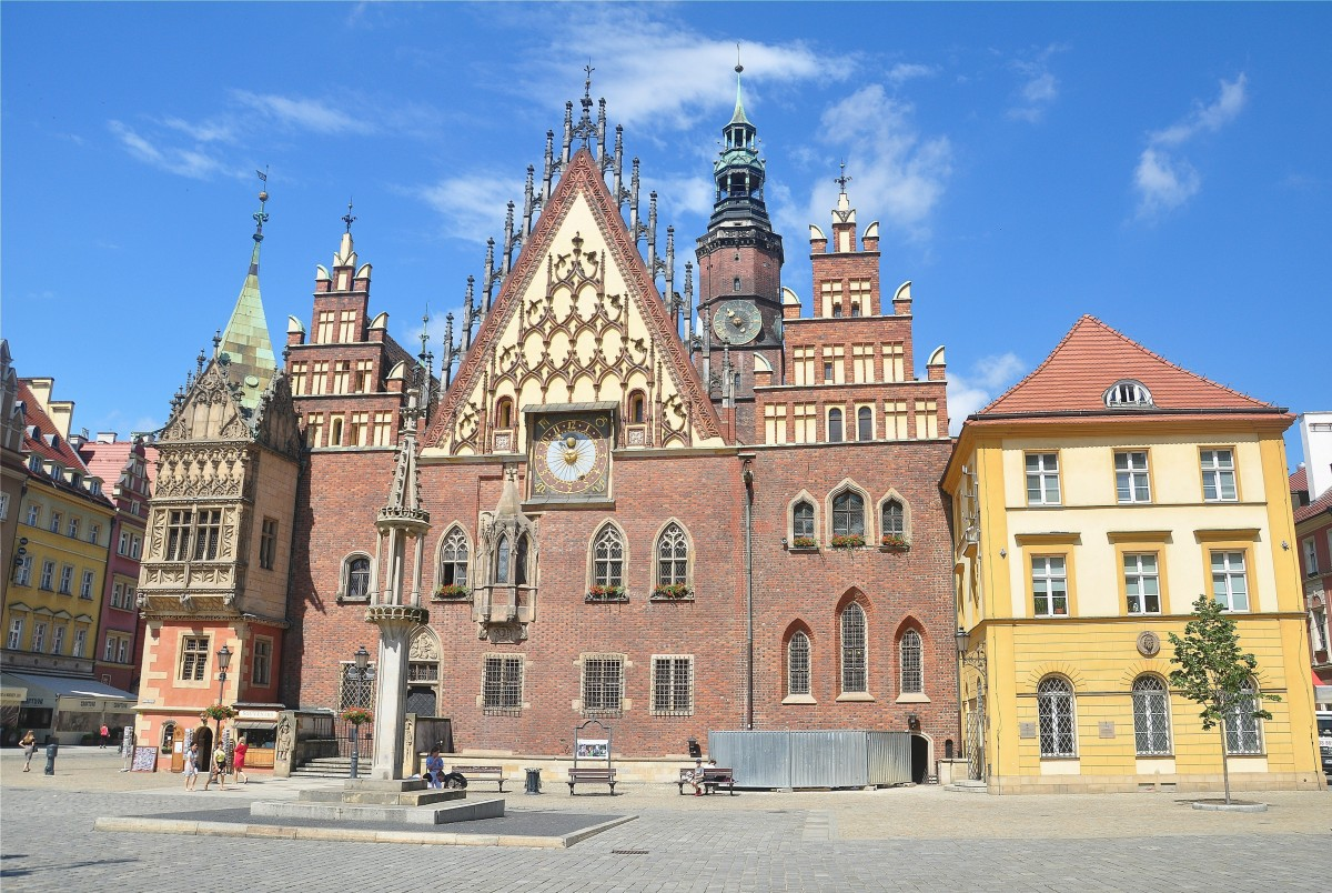 Zdjęcia: Wrocław, dolnośląskie, Stary Ratusz we Wrocławiu, POLSKA