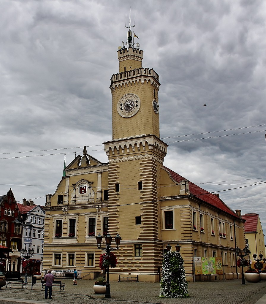 Zdjęcia: Świebodzin, województwo lubuskie, Ratusz z XVI wieku, POLSKA