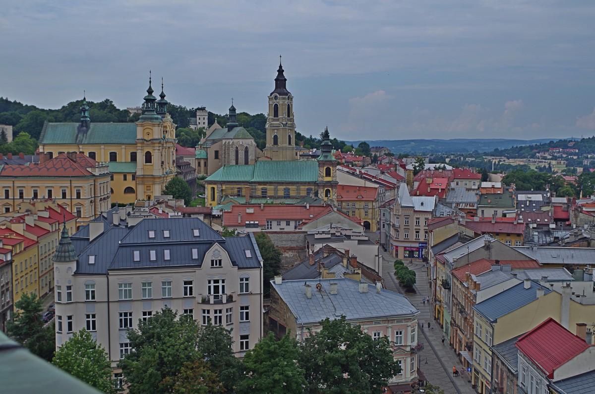 Zdjęcia: Przemyśl , Podkarpacie,  widok z wieży zegarowej , POLSKA