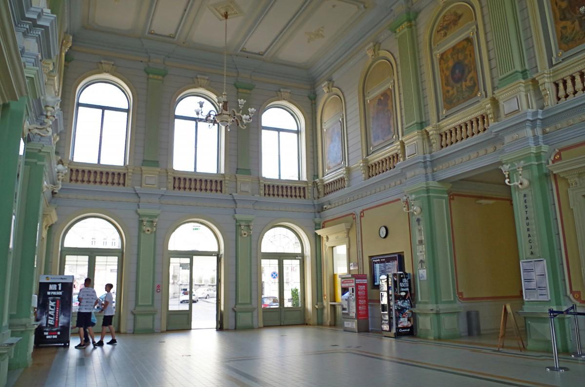 Zdjęcia: Przemyśl , Podkarpacie,  piękny dworzec kolejowy :), POLSKA