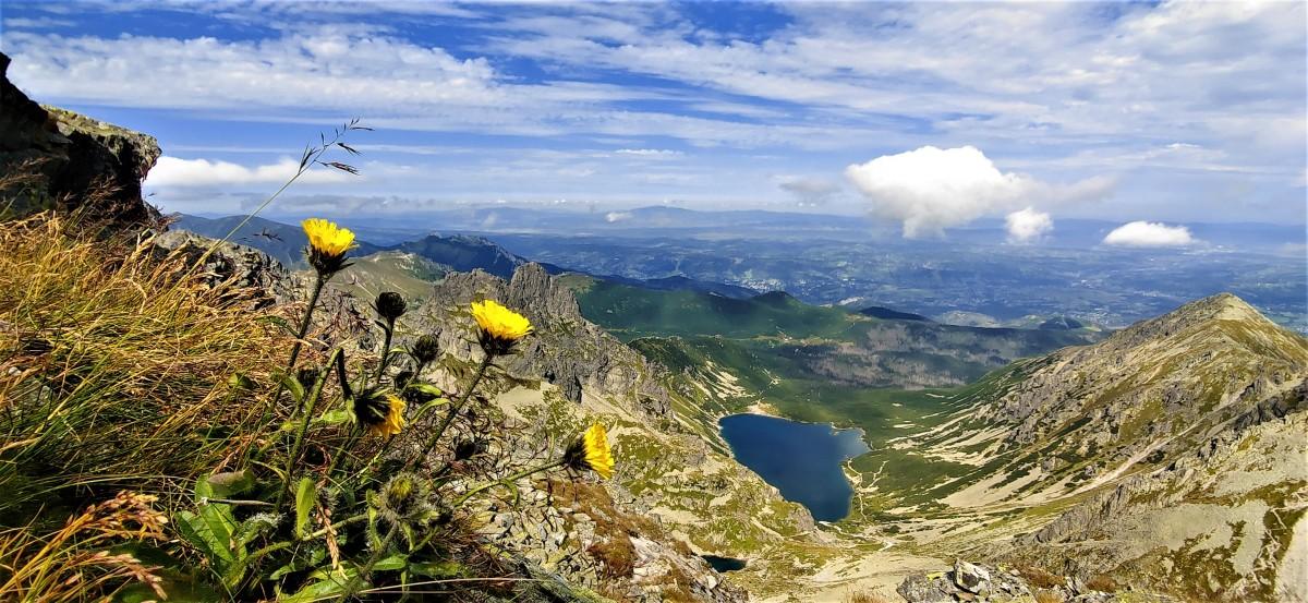 Zdjęcia: orla perć, Tatry, Staw gąsienicowy widziany z orlej, POLSKA