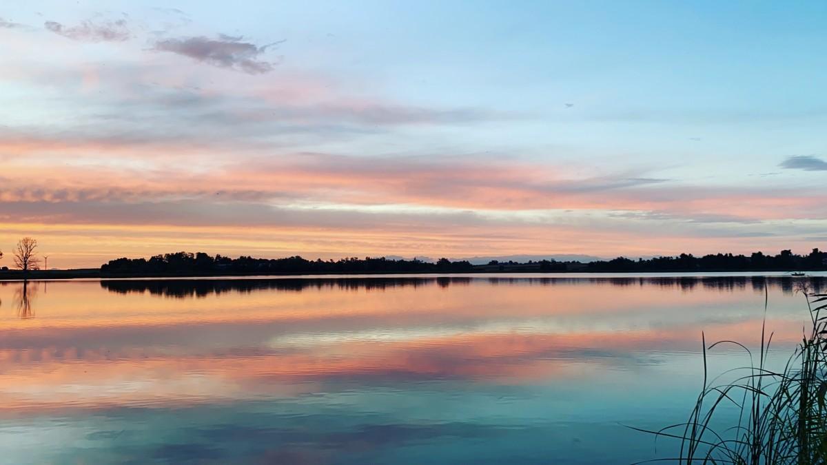 Zdjęcia: Wenecja, kujawsko-pomorskie, Pastelowy zachód słońca , POLSKA
