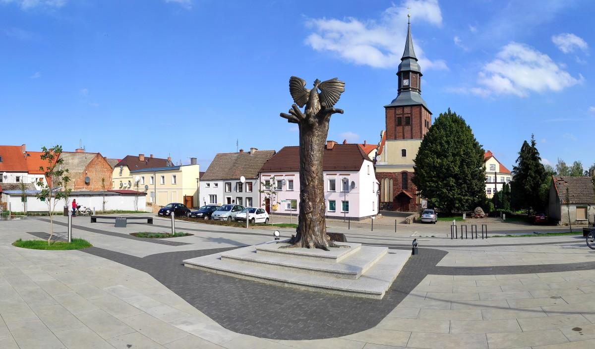 Zdjęcia: Pełczyce, zachodniopomorskie, Rynek w Pełczycach, POLSKA