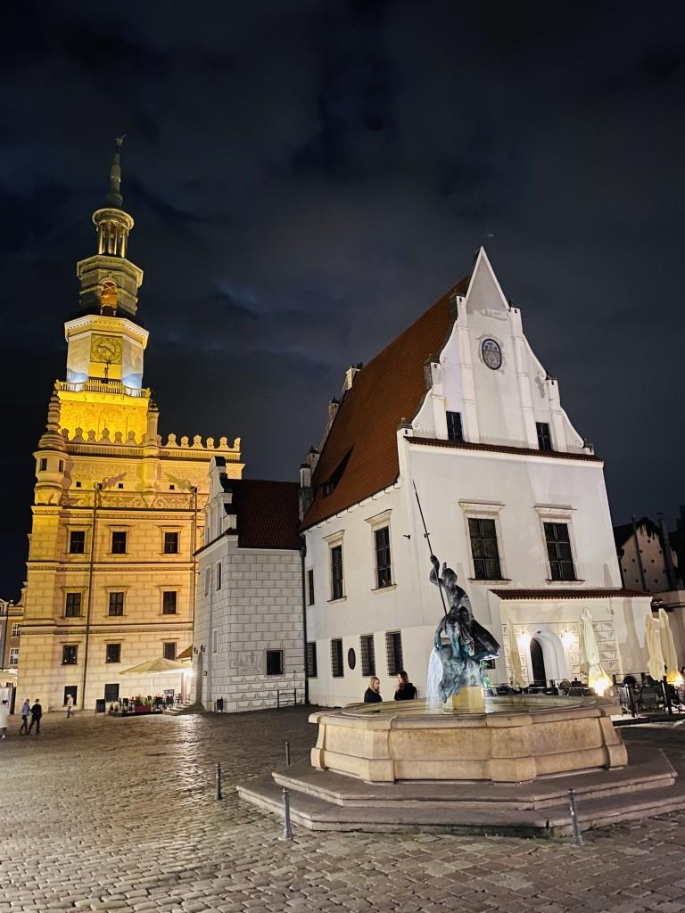 Zdjęcia: Poznań , Poznań , Poznań nocą , POLSKA