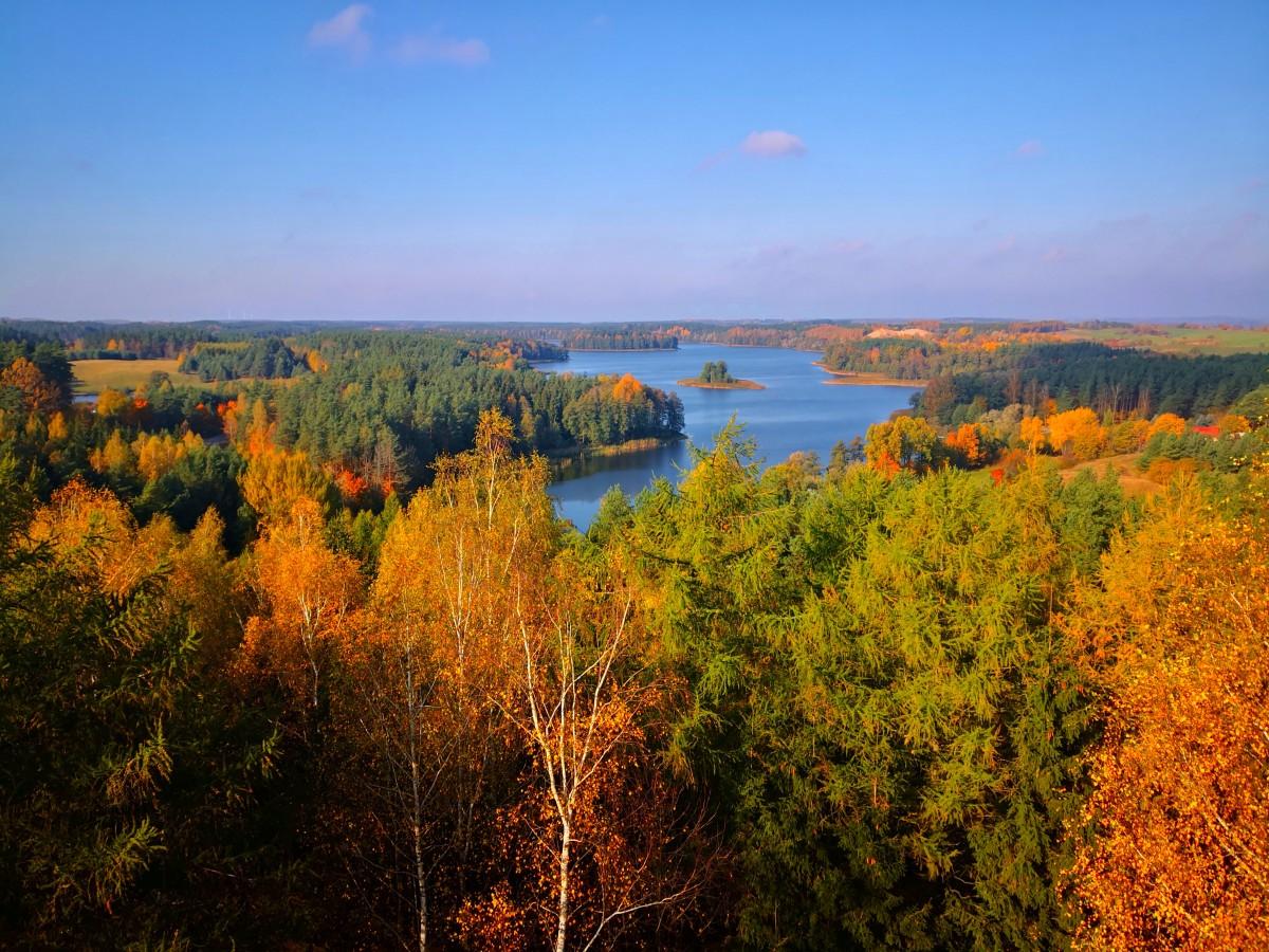 Zdjęcia: Stare Juchy, Warmińsko-Mazurskie, Jesiennie, POLSKA