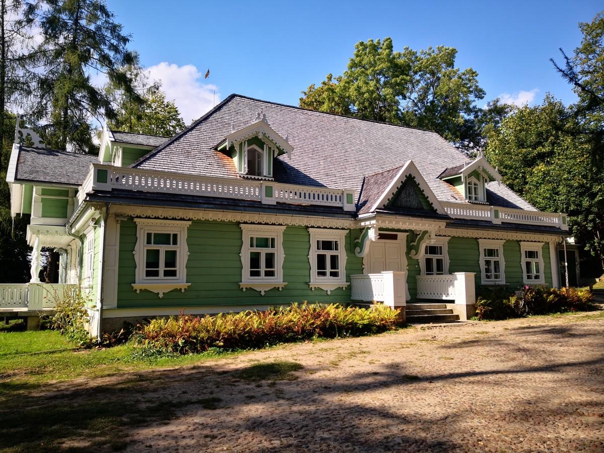 Zdjęcia: Białowieża, Podlasie, Domek Gubernatora, POLSKA