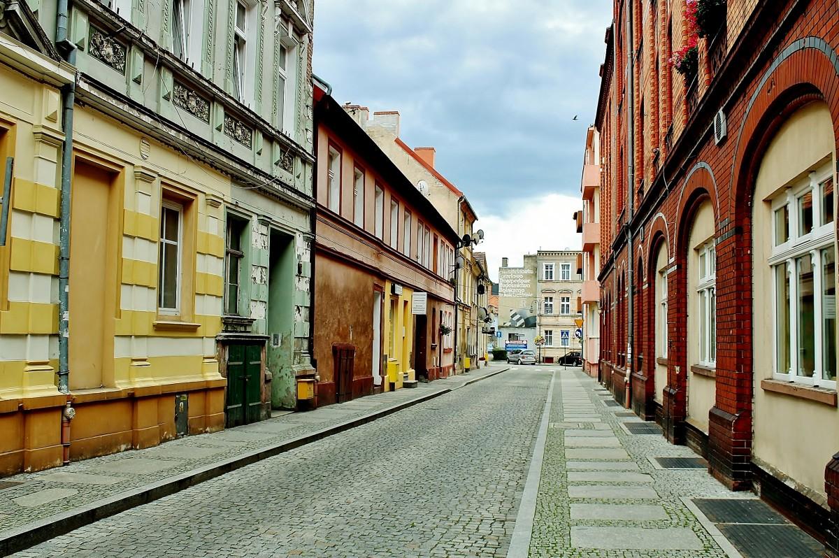 Zdjęcia: Świebodzin, województwo lubuskie, Uliczka w Świebodzinie, POLSKA