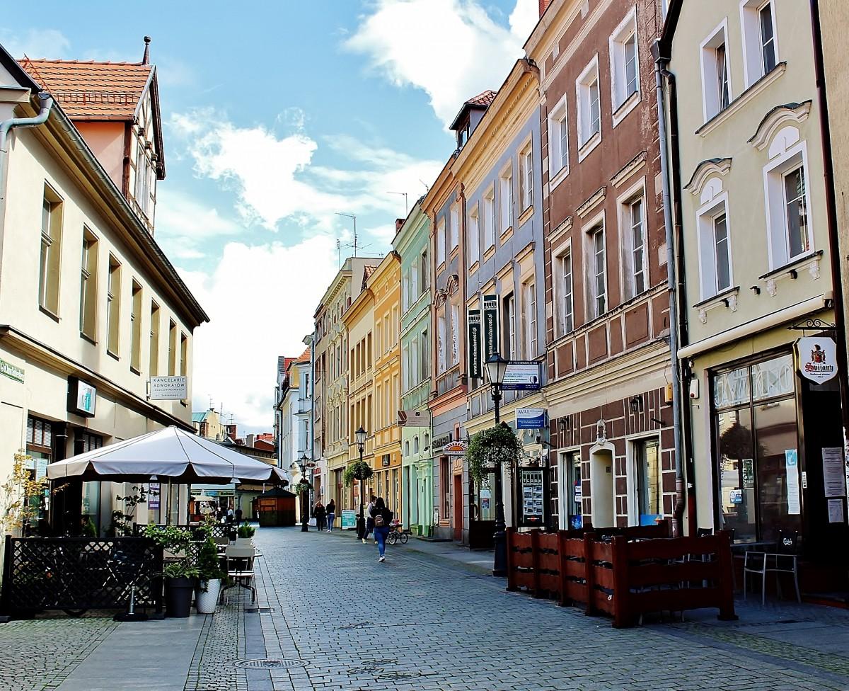 Zdjęcia: Zielona Góra, województwo lubuskie, Ulica Sobieskiego, POLSKA