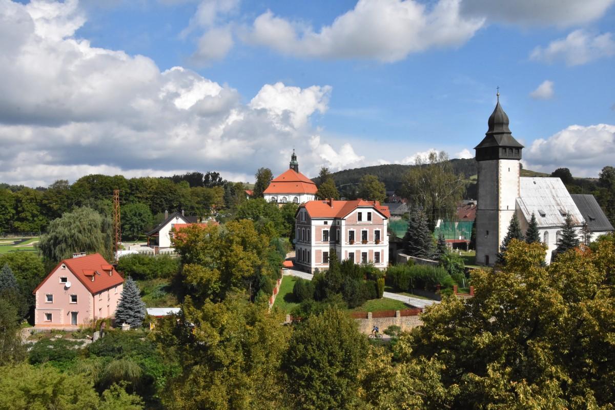 Zdjęcia: Siedlęcin, województwo dolnośląskie, Widok z wieży, POLSKA