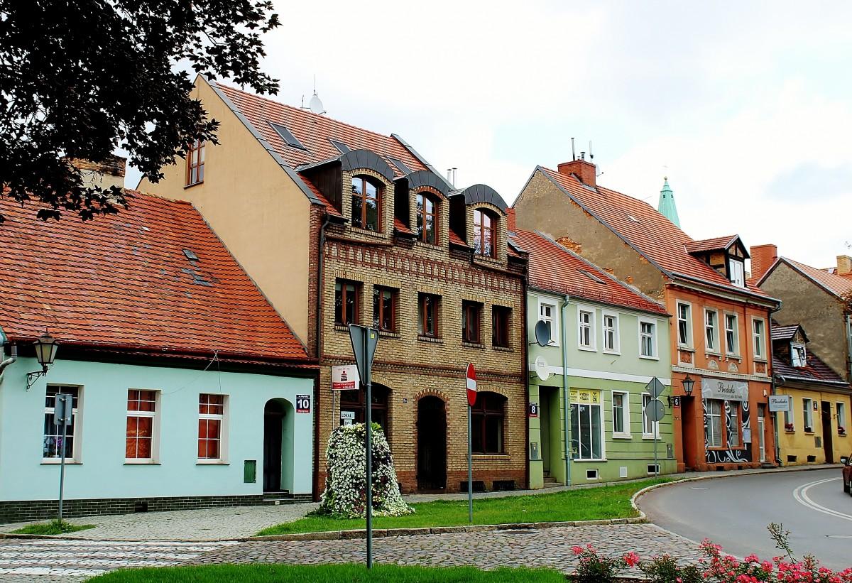 Zdjęcia: Międzyrzecz, województwo lubuskie, Kamieniczki, POLSKA