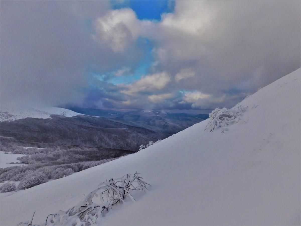 Zdjęcia: na szlaku, Bieszczady, w drodze na szczyt, POLSKA