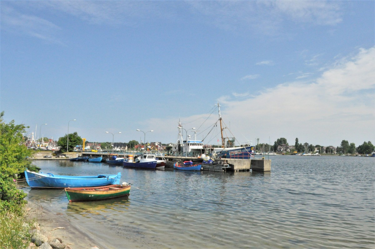 Zdjęcia: Jastarnia, Kaszuby, Jastarnia, port, jeszcze przed zagospodarowaniem, POLSKA