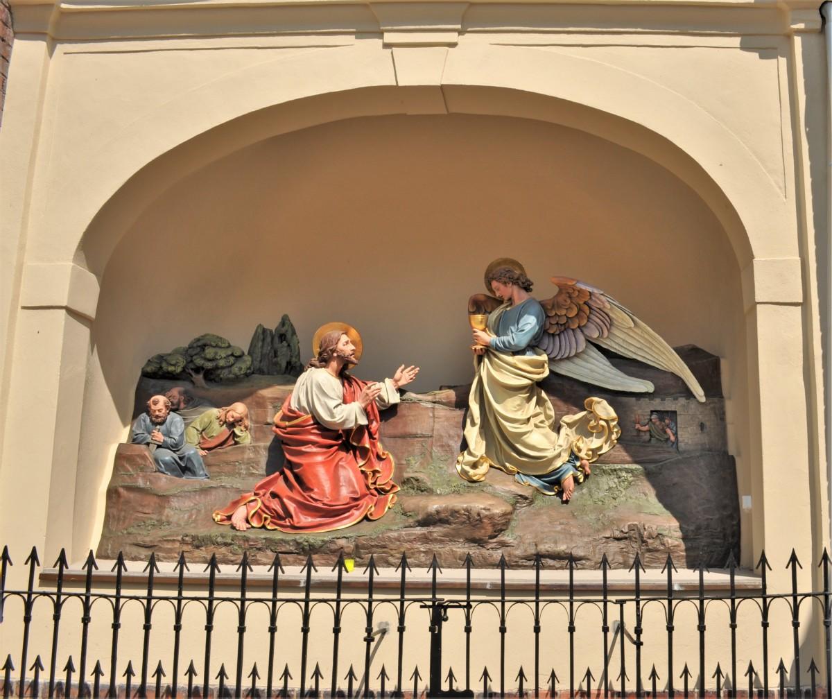 Zdjęcia: Opole, Śląsk Opolski, Ogrójec przy katedrze w opolu, POLSKA