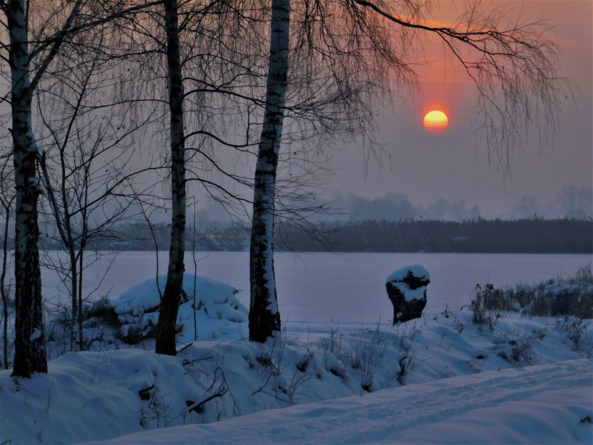 Zdjęcia: Spytkowice, dolina karpia, Klimatyczny mroźny wschód , POLSKA
