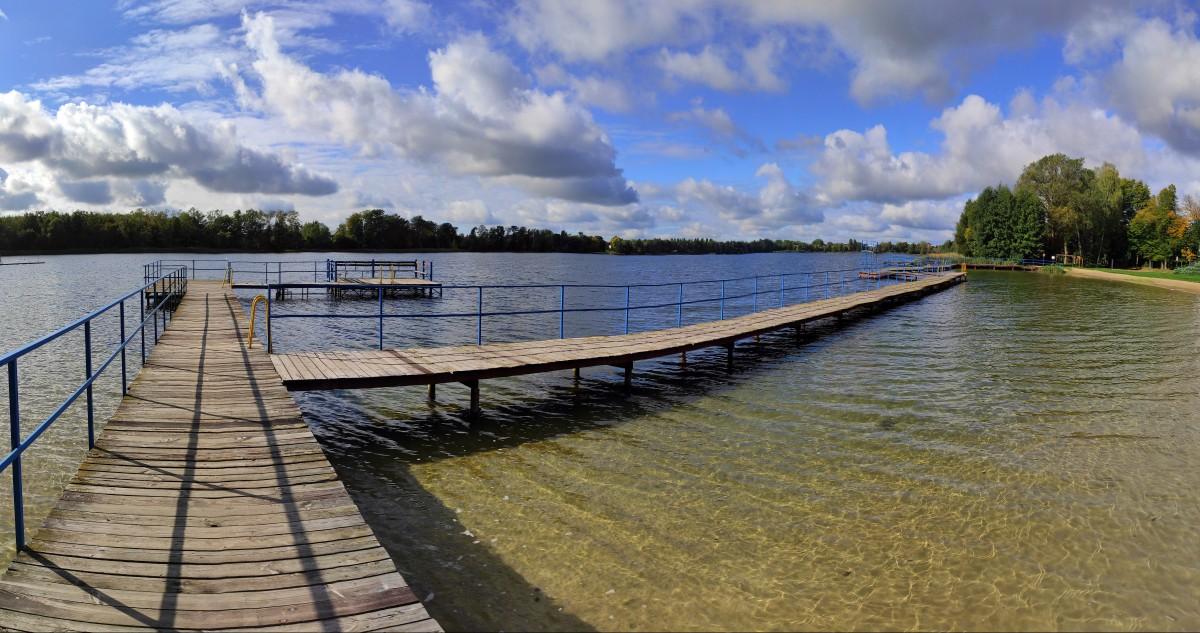 Zdjęcia: Choszczno, zachodniopomorskie, Jezioro Klukom (Kluki), POLSKA