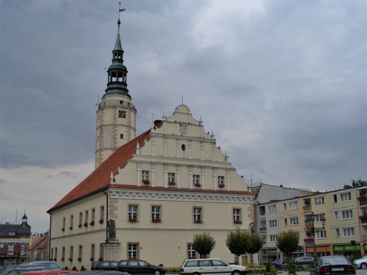 Zdjęcia: Głogówek, Śląsk Opolski, Głogówek, ratusz, POLSKA