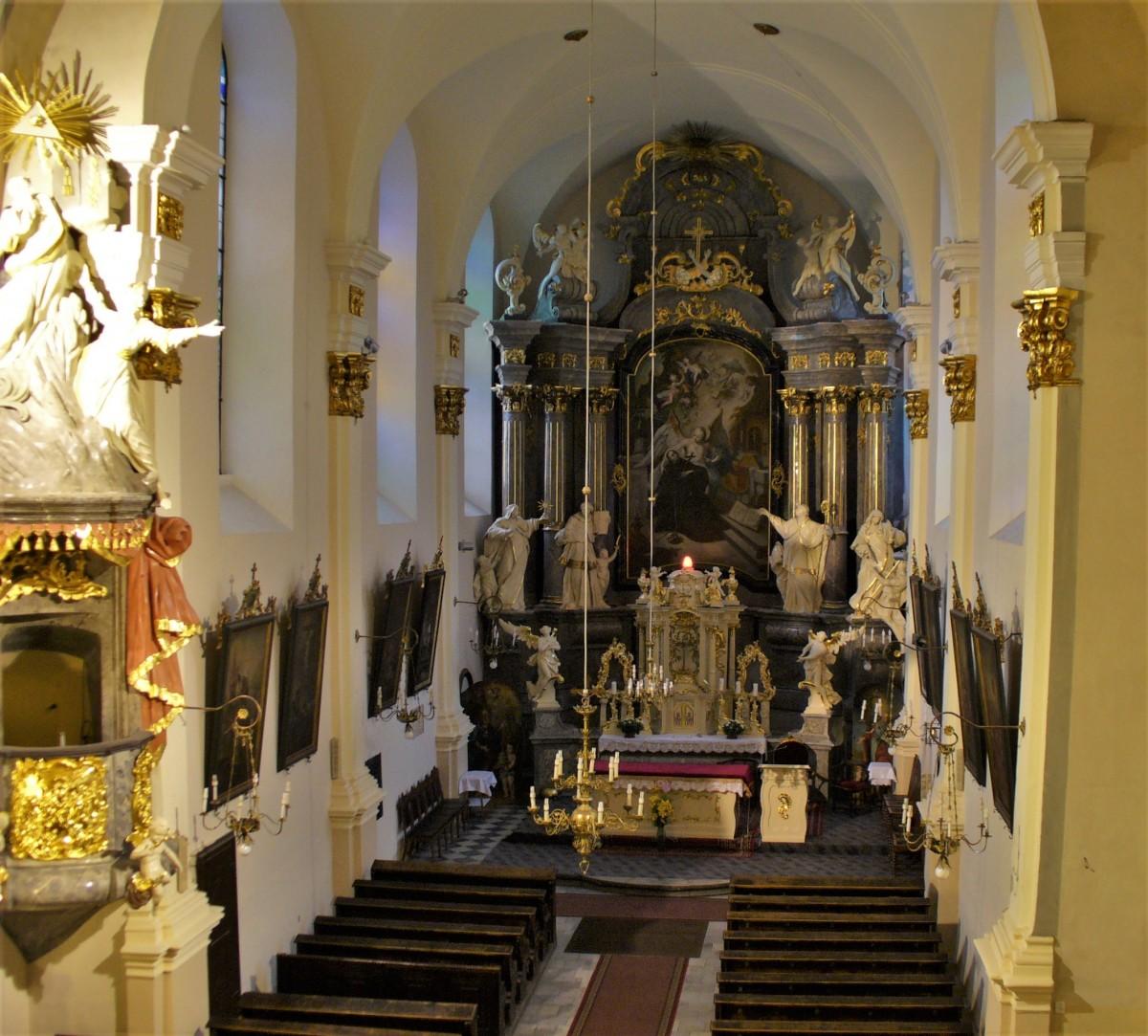 Zdjęcia: Głogówek, Śląsk Opolski, Głogówek, kościół franciszkański, POLSKA