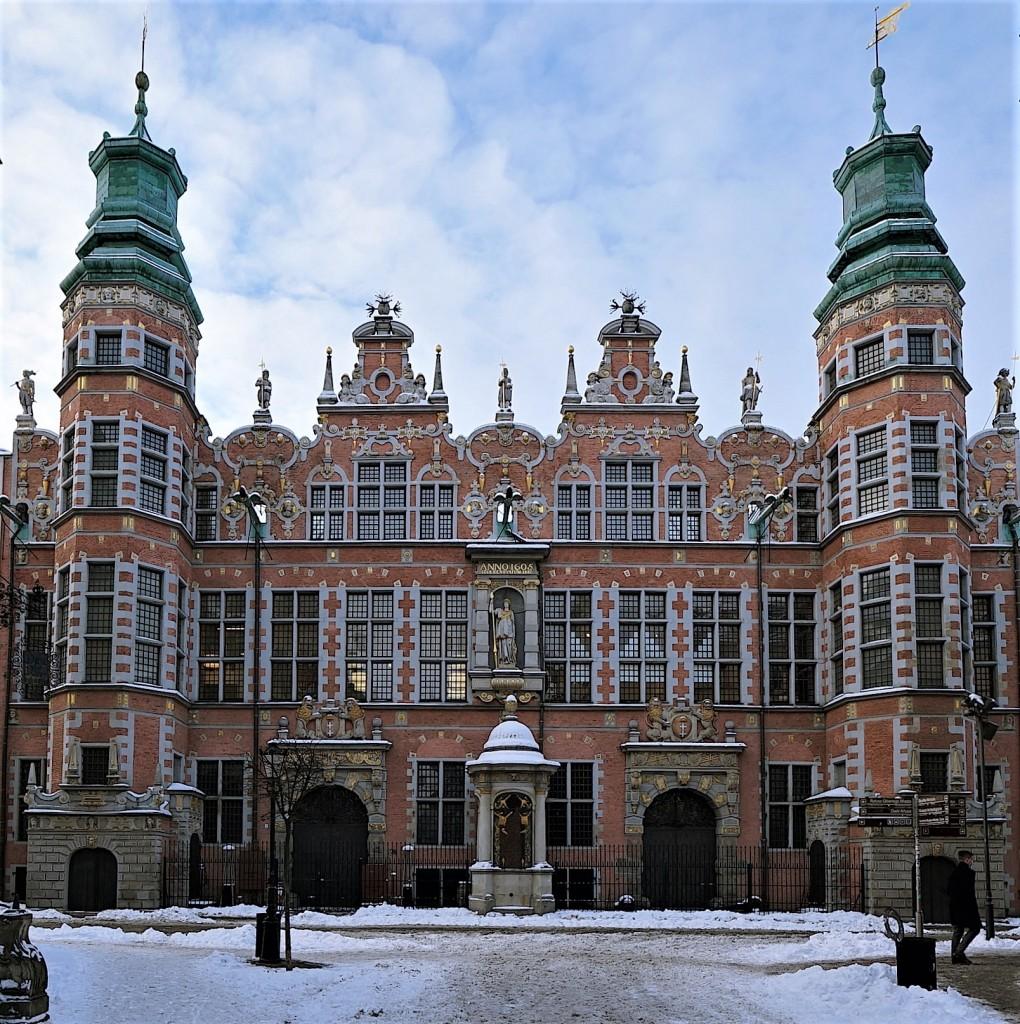 Zdjęcia: Gdańsk, Pomorze, Dawniej zbrojownia, obecnie siedziba Akademii Sztuk Pięknych, POLSKA