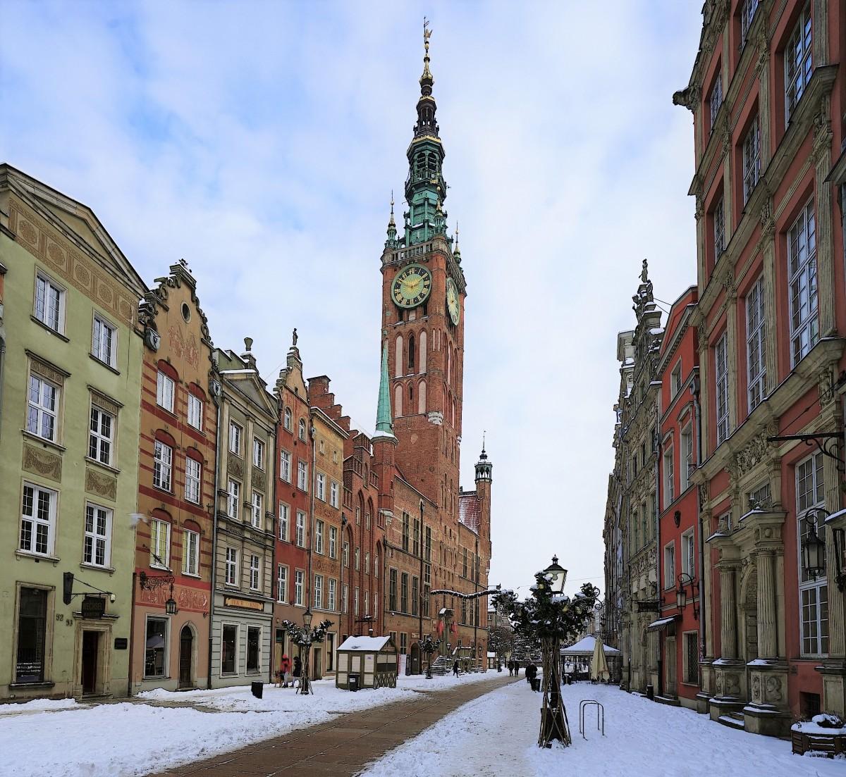 Zdjęcia: Gdańsk, Pomorze, Ratusz Głównego Miasta, POLSKA