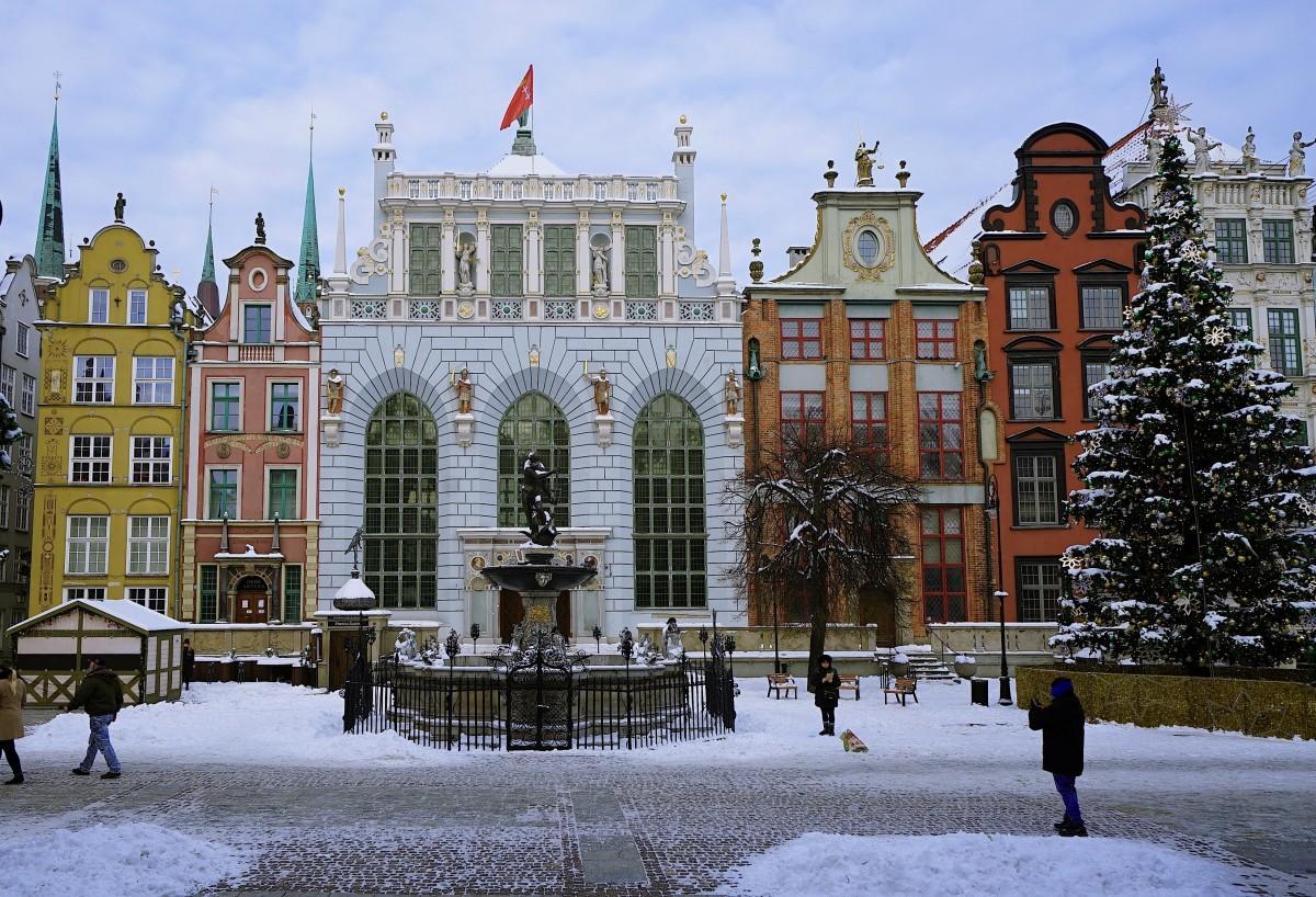 Zdjęcia: Gdańsk, Pomorze, Dwór Artusa, POLSKA