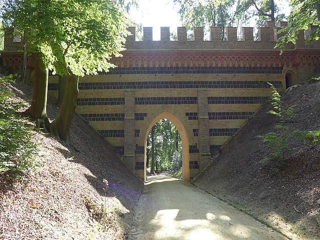 Zdjęcia: Park Krajobrazowy Łuk Mużakowa, Lubuskie, Wiadukt, POLSKA