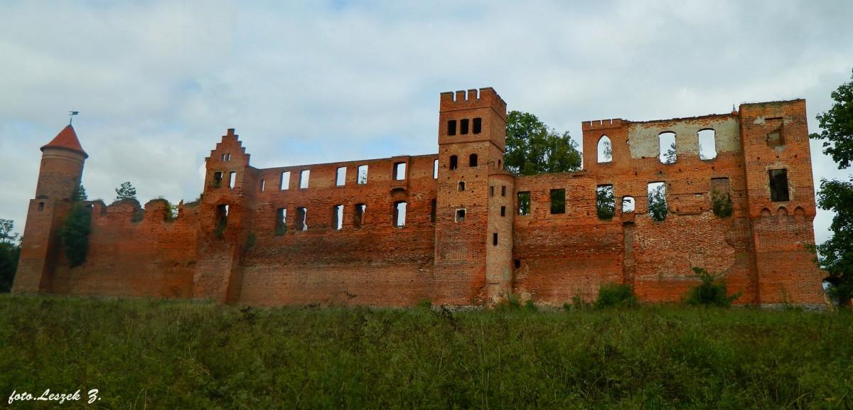 Zdjęcia: Szymbark koło Iławy., warmińsko-mazurskie, Szymbark - Ruiny zamku 12 wież., POLSKA
