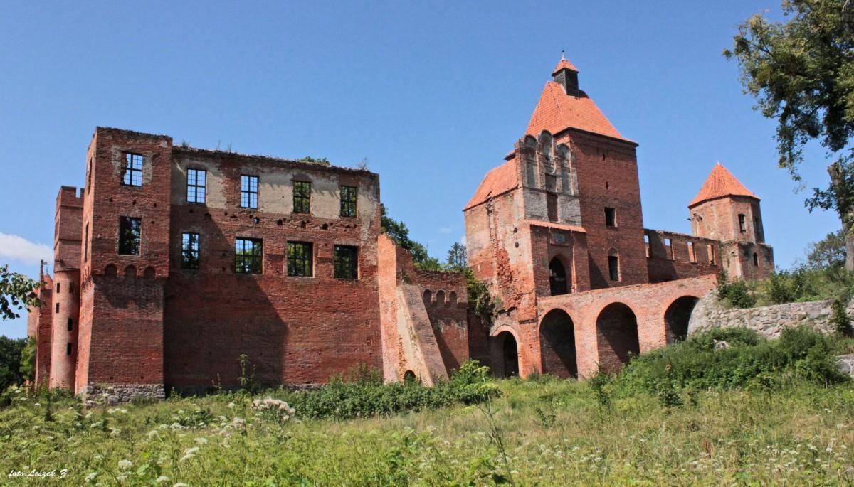 """Zdjęcia: Szymbark koło Iławy., warmińsko-mazurskie, Szymbark - Ruiny zamku (na życzenie """"juras48"""") 4., POLSKA"""
