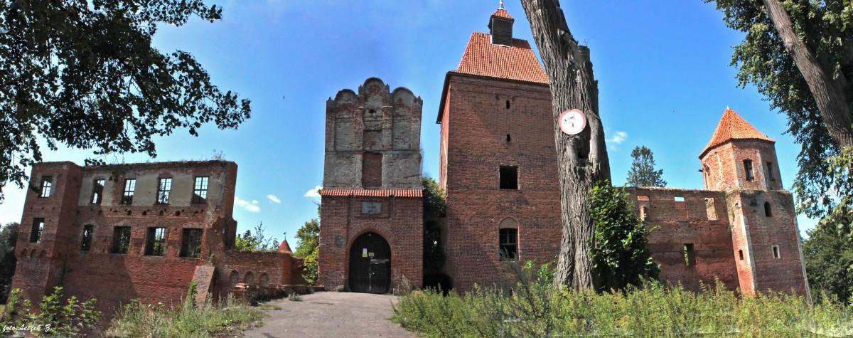 """Zdjęcia: Szymbark koło Iławy., warmińsko-mazurskie, Szymbark - Ruiny zamku (na życzenie """"juras48"""") 6, POLSKA"""