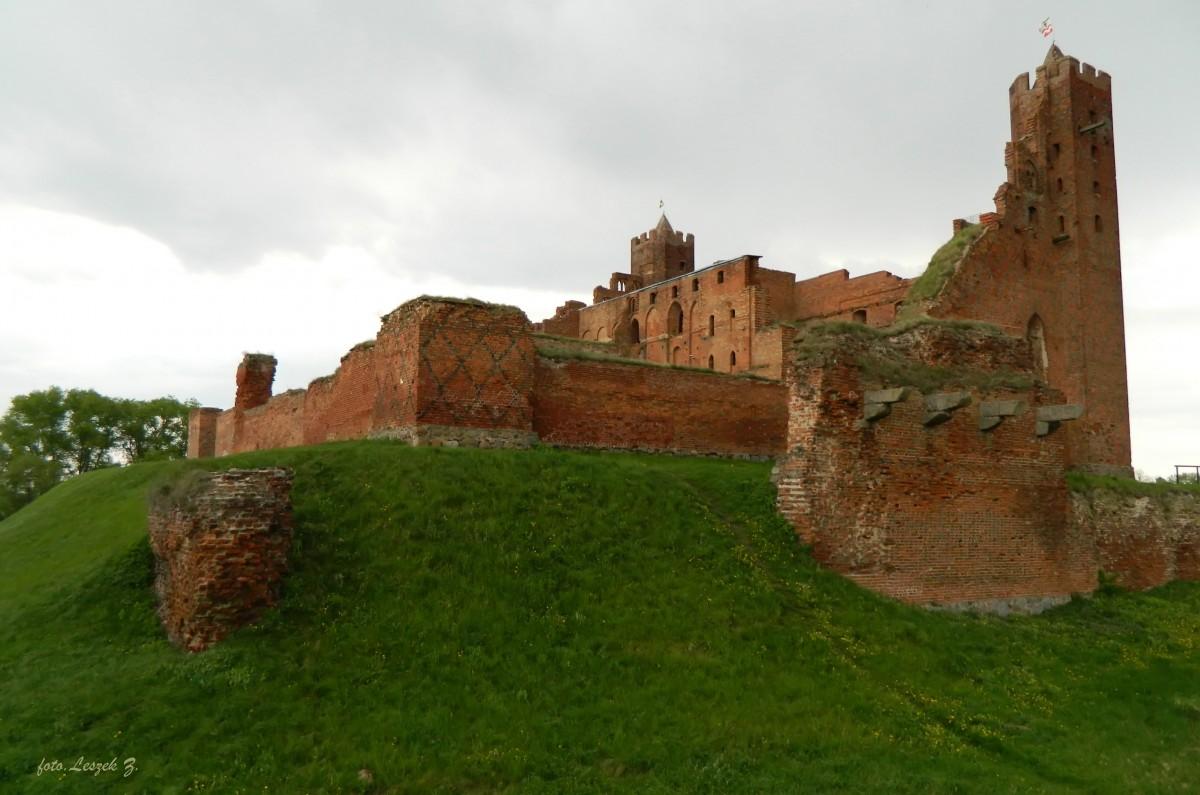 Zdjęcia: Radzyn Chełmiński., Kujawsko - Pomorskie., Radzyn Chełmiński - Ruiny zamku Krzyżackiego., POLSKA