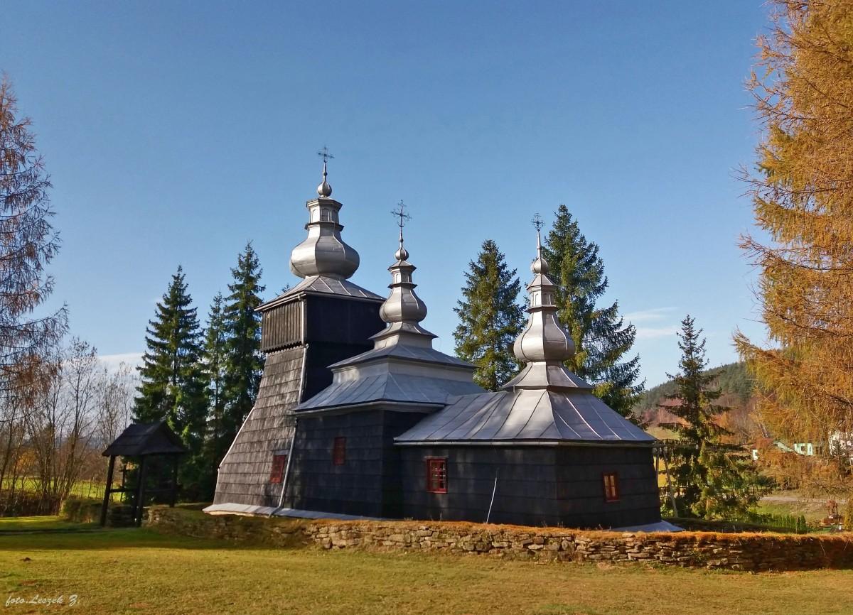 Zdjęcia: pow. Gorlice., woj.małopolskie., Czarna - cerkiew św. Dymitra., POLSKA