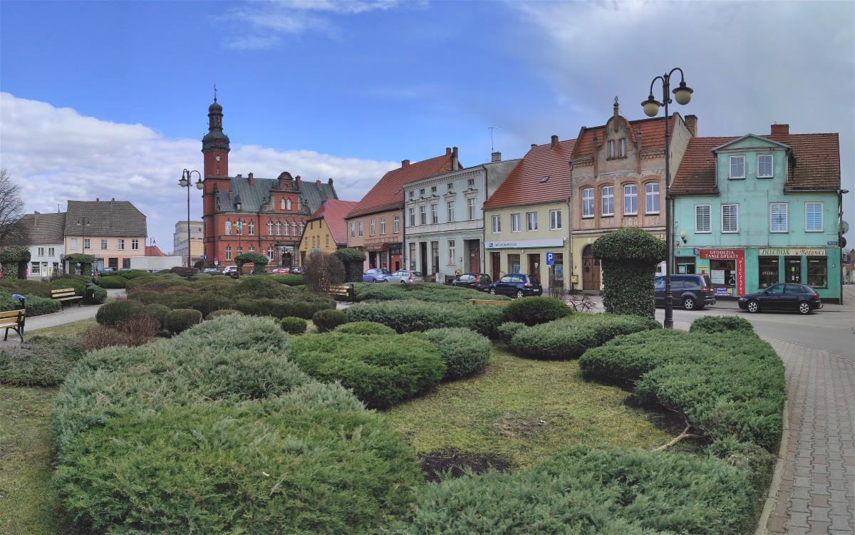 Zdjęcia: Drezdenko, lubuskie, Rynek w Drezdenku, POLSKA