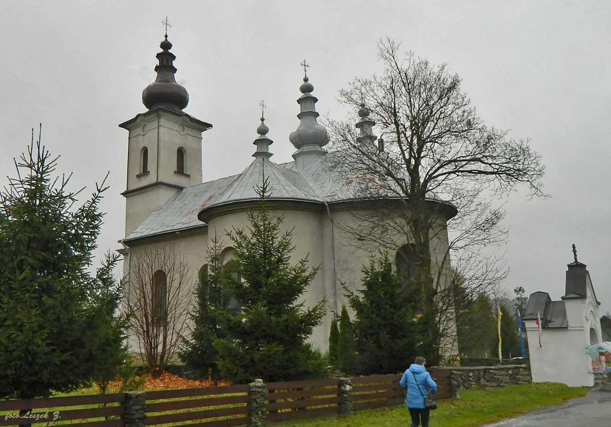 Zdjęcia: pow.gorlicki., woj.małopolskie., Izby - cerkiew św. Łukasza., POLSKA