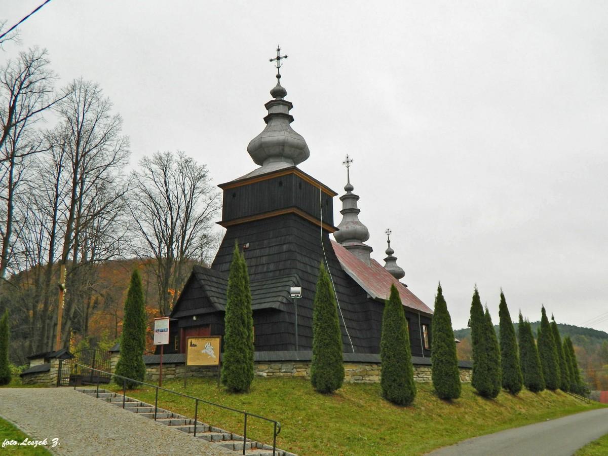 Zdjęcia: gmina Krynica Zdrój., pow. nowosądecki., Polany - cerkiew św. Michała Archanioła., POLSKA