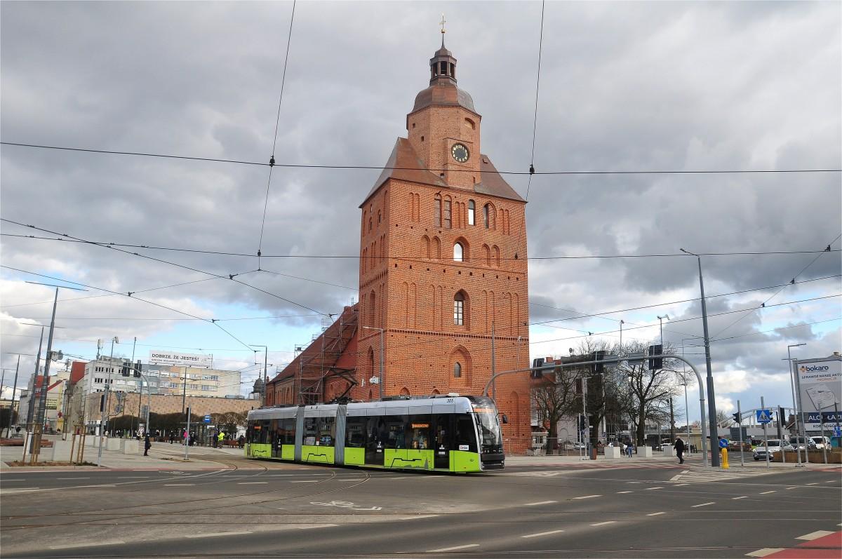 Zdjęcia: Gorzów Wielkopolski, lubuskie, Katedra w Gorzowie Wielkopolskim, POLSKA