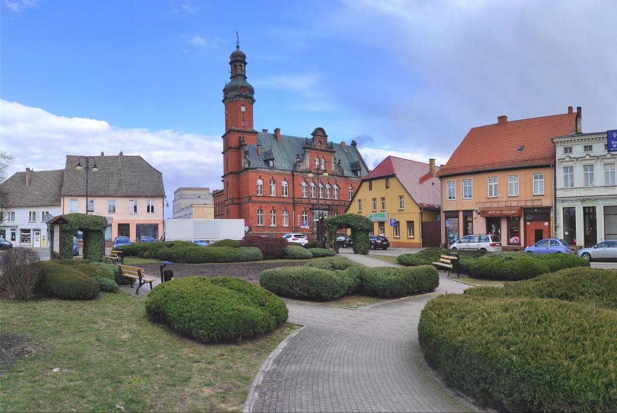 Zdjęcia: Drezdenko, lubuskie, Na Starym Rynku w Drezdenku, POLSKA