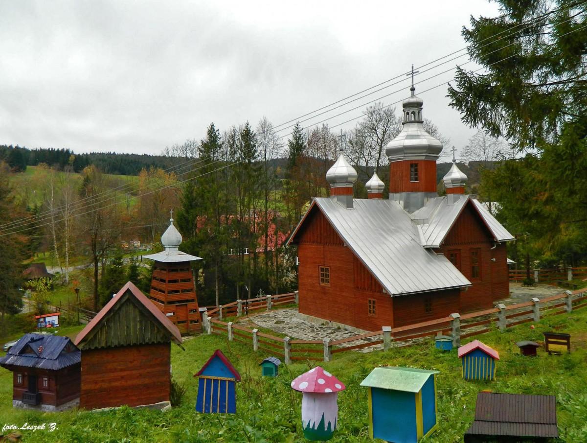 Zdjęcia: gmina Łabowa., pow. nowosądecki., Kamianna - Cerkiew św. Paraskewy., POLSKA