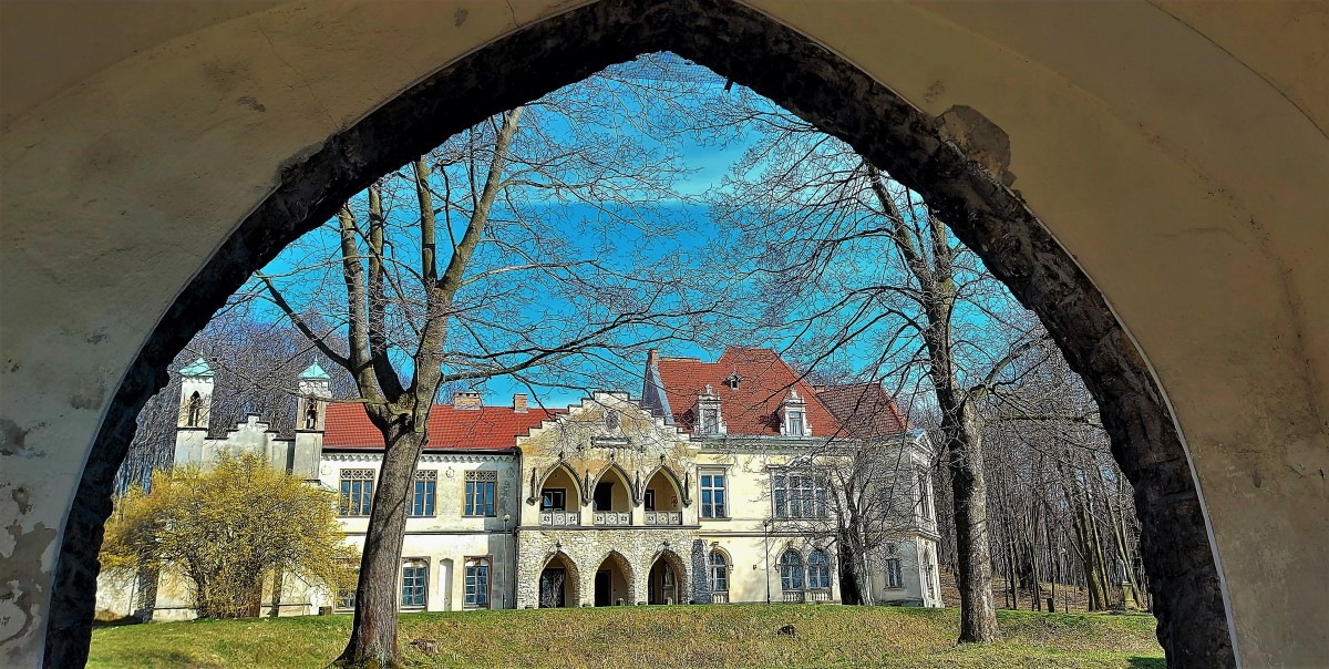 Zdjęcia: Młoszowa, Jura Krakowsko-Częstochowska, XIX-wieczny pałac Florkiewiczów, POLSKA