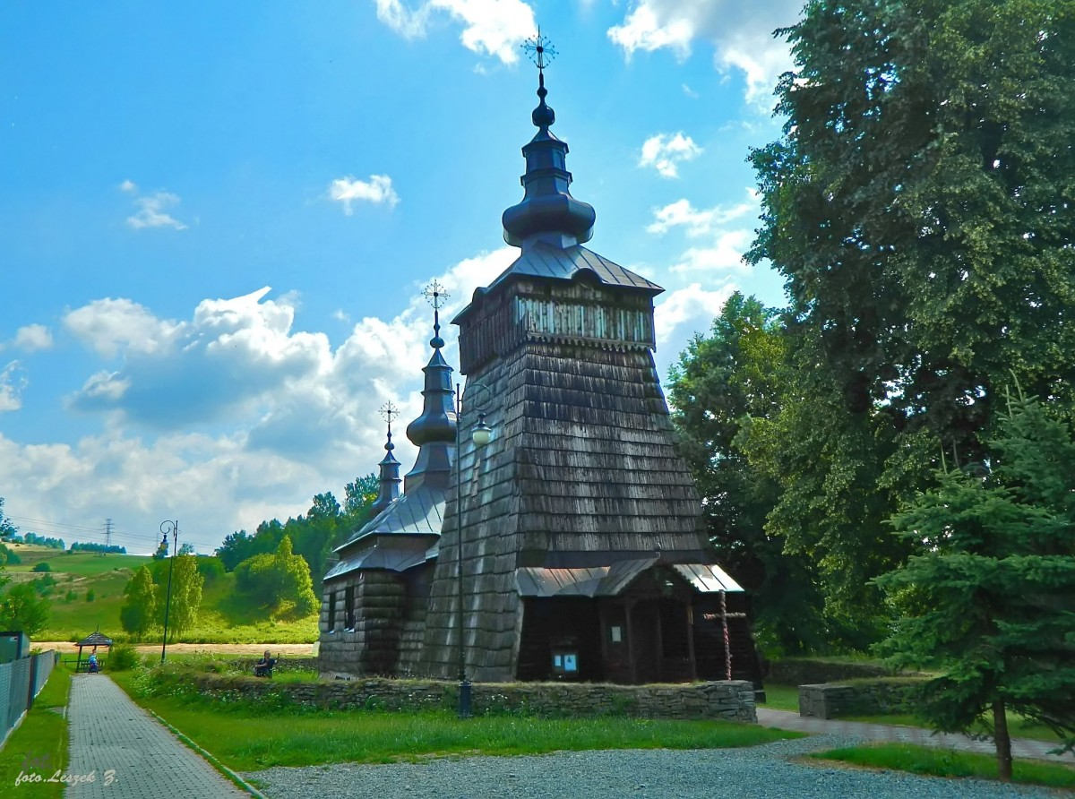Zdjęcia: gmina Muszyna., pow. nowosądecki., Szczawnik - cerkiew św. Dymitra., POLSKA
