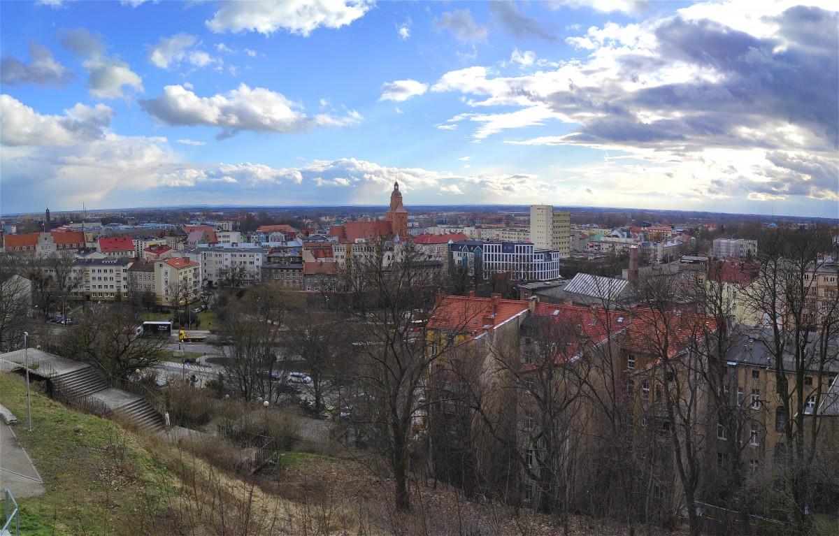 Zdjęcia: Gorzów Wielkopolski, lubuskie, Panorama Gorzowa, POLSKA